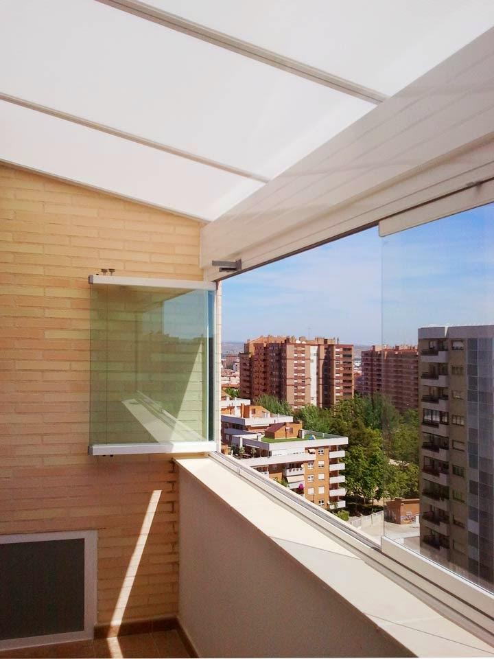 Cerramientos de cristal para cada terraza jardines y terrazas exteriores - Cerrar la terraza ...