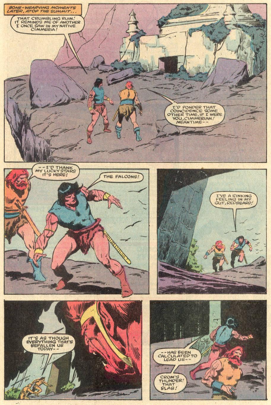 Conan the Barbarian (1970) Issue #162 #174 - English 18