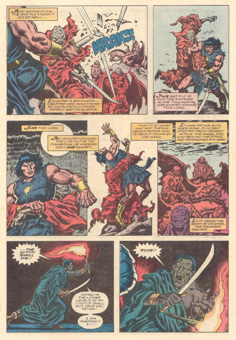 Conan the Barbarian (1970) Issue #183 #195 - English 10