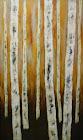 Birches, Birds, & Wires. Arts on Queen. 2198 Queen Street East, Toronto.