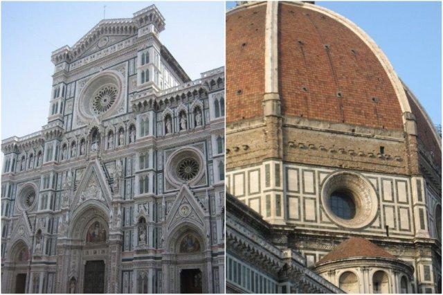 Exterior y cúpula – Catedral de Santa Maria del Fiore en Florencia, Firenze