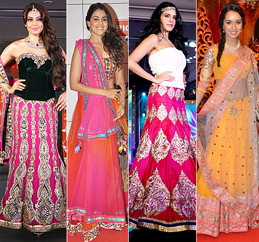 Wedding Lancha Images: Fashion Tips: INDIAN TRADITIONAL LEHENGAS