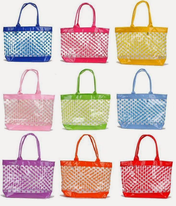 Polka Dot Tote Bags