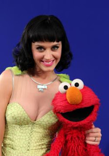 Katy Perry, Elmo, Sesame Street, Hot 'N Cold