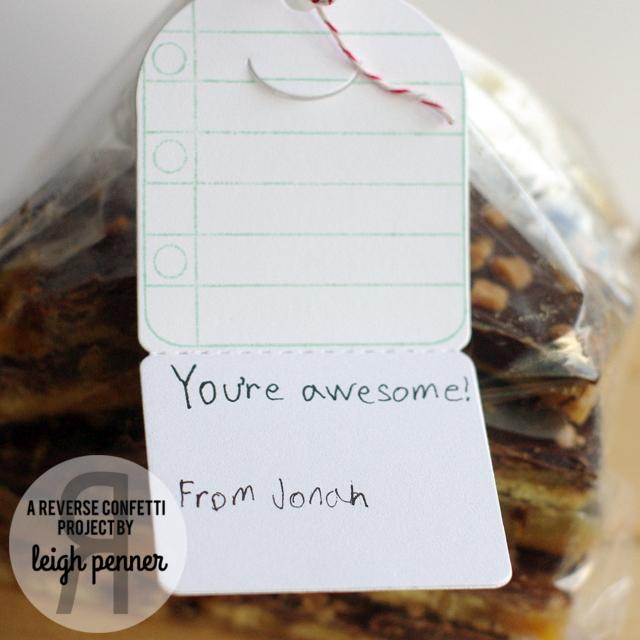 Reverse Confetti Spring Fling Blog Hop Leigh Penner @revereseconfetti #reverseconfetti #treatbags #tags