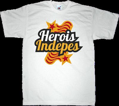 independence freedom catalonia catalan war referendum t-shirt ephemeral-t-shirts irony