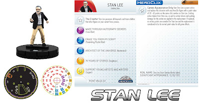 Comic-Con Episode IV: A Fan's Hope DVD & Heroclix Combo Pack - Stan Lee Heroclix