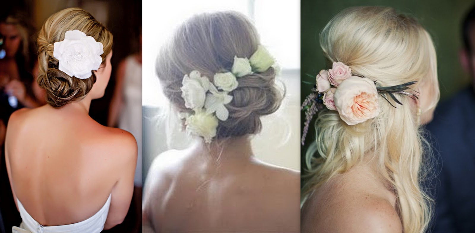 Fake Hair Flowers Weddings 13