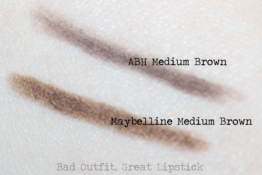 Bad Outfit Great Lipstick Review Maybelline Define A Brow Pencil