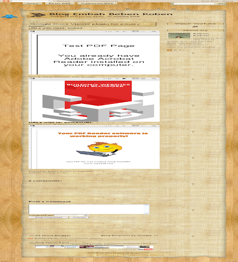gDocsViewer jQuery plugin
