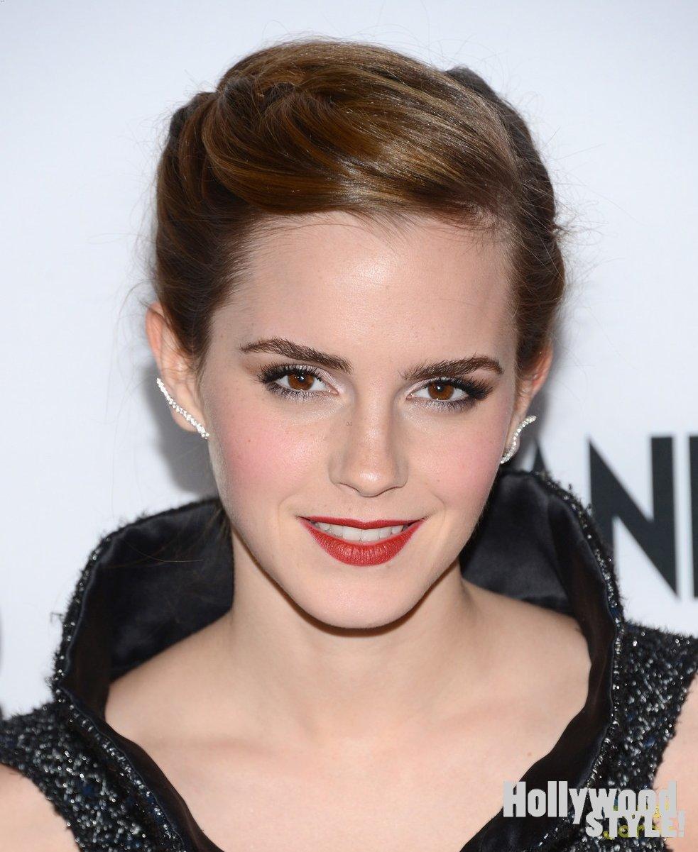 Emma Watson: Glamurosa En El Estreno De Su Película 'the Bling Ring'