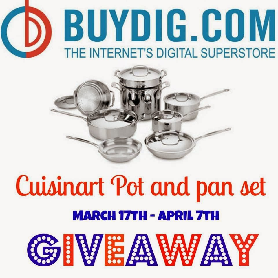 Cuisinart Chef's Classic Stainless Steel 14-piece Cookware Set Giveaway US Ends 4/7