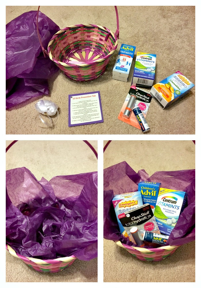 Germ Prevention Tips, Family Health & Wellness Basket, Health Tip Printable, #BeHealthyForEveryPartofLIfe