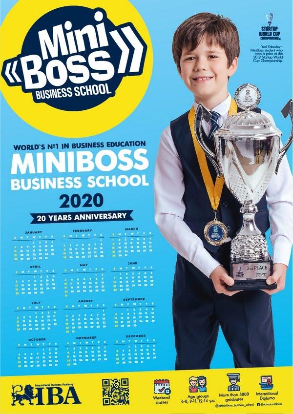 MINIBOSS Calendar 2020