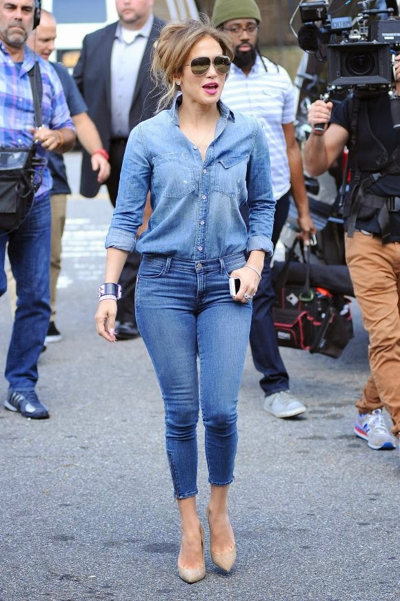 Jennifer Lopez in Jeans