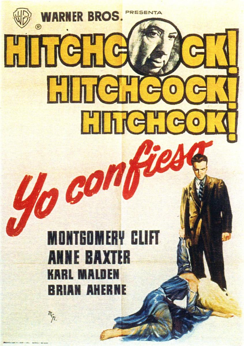 Yo confieso (1953) Alfred Hitchcock (HD)