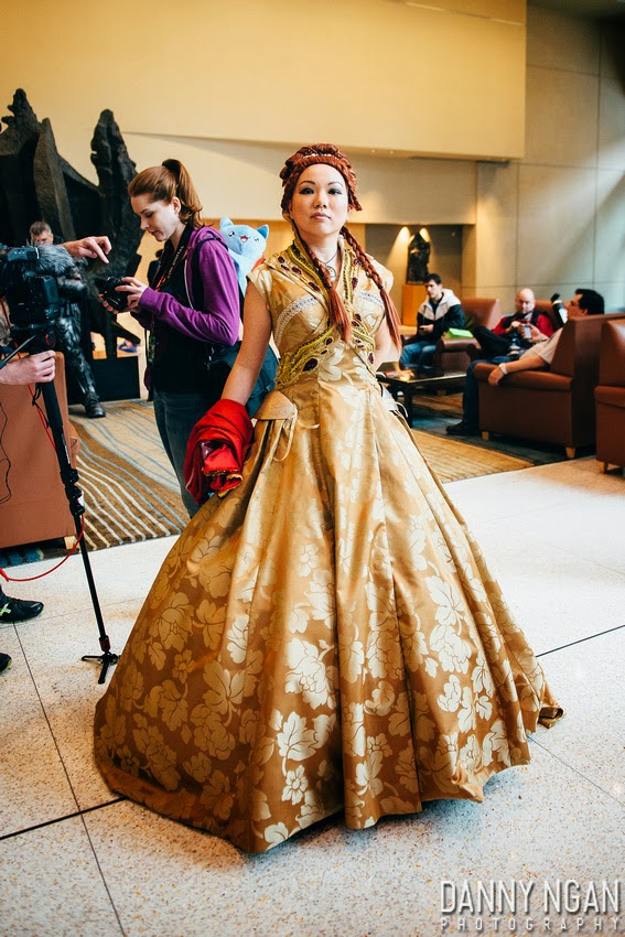Seattle Cosplay Game Of Thrones Sansa S Wedding Gown