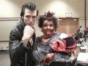 """Kontes Pemilihan """"Miss"""" Terunik di Dunia: Miss Zombie Beauty"""