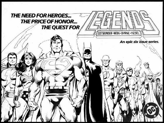 Quien es quien? DC Comics: JOHN BYRNE