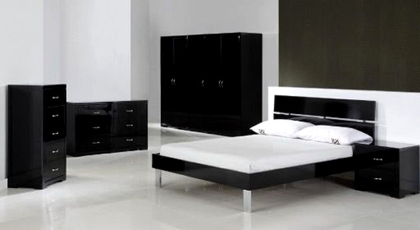 Luxury bedroom furniture design Bedroom design ideas with black furniture