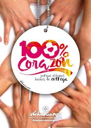 100% CORAZÓN