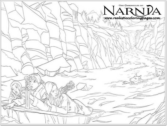 free printable The Chronicles Of Narnia coloring pages