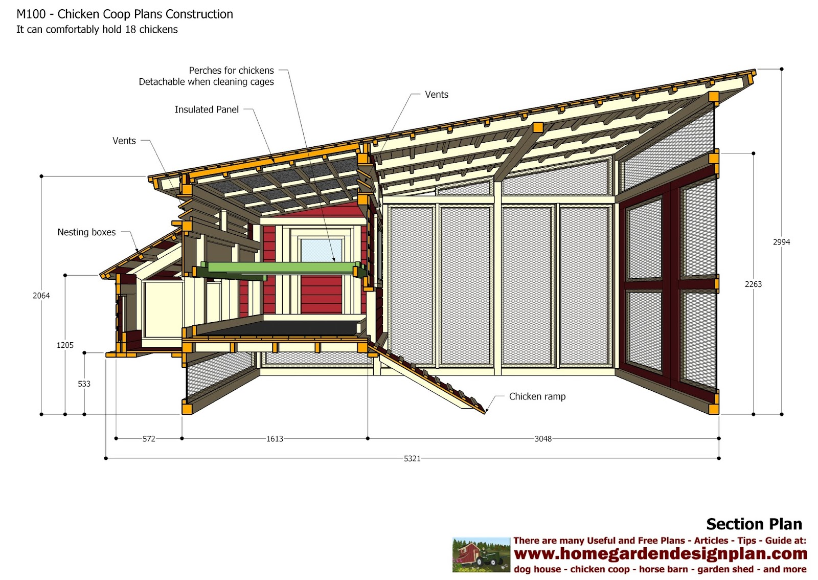 Chicken Hen House Plans House Design Plans