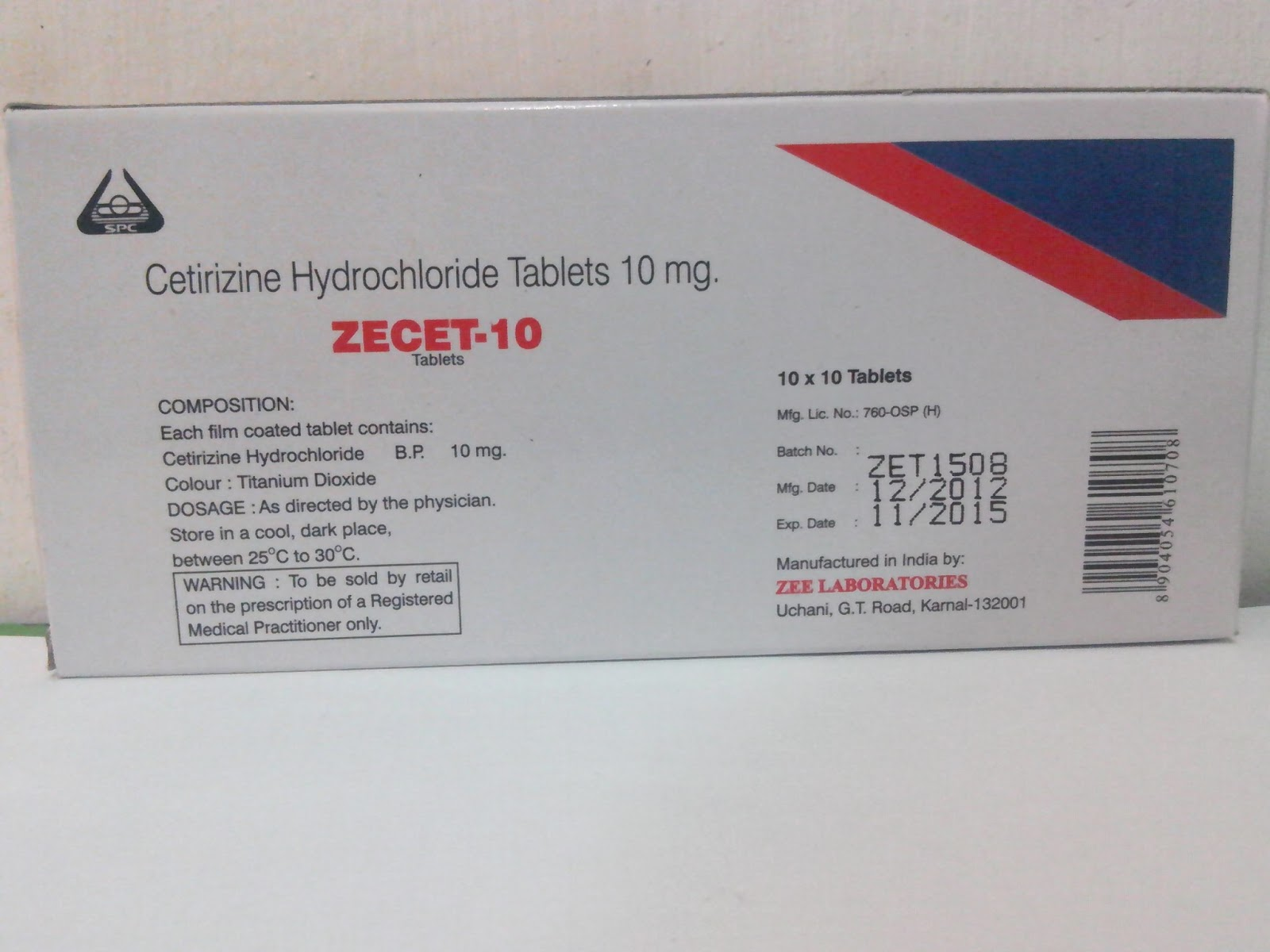 5mg zyrtec tablets