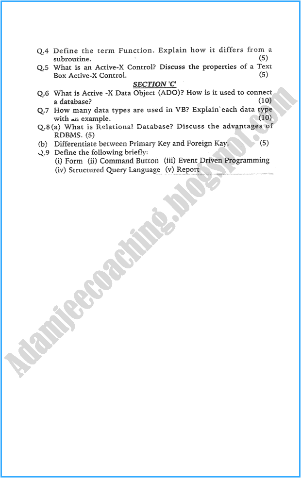 xii-computer-science-past-year-paper-2007