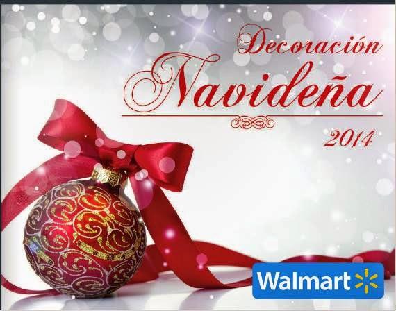 Catalogo Walmart Decoración Navideña 2014