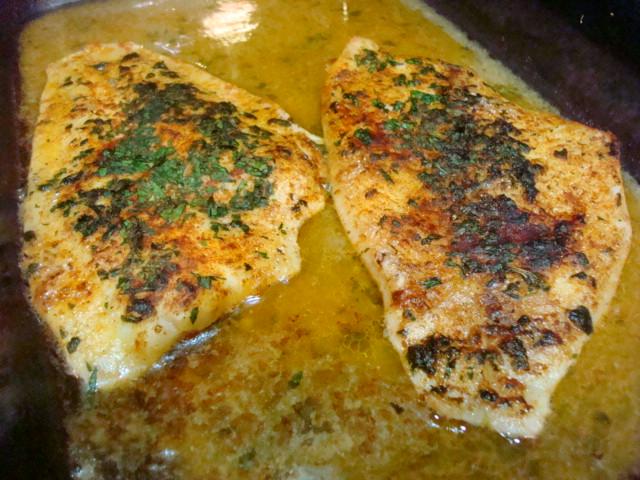 Smoky Mountain Café: Broiled Fillet of Flounder in Cajun Shrimp ...