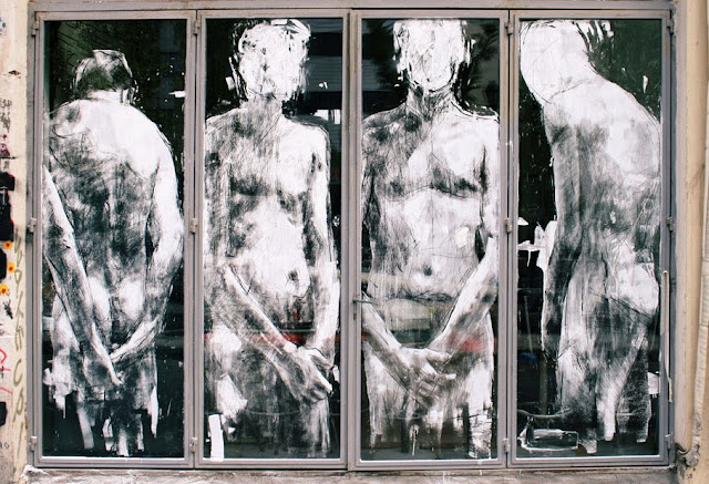 """""""Shame"""" New Street Art By Borondo On The Streets Of Athens, Greence. 2"""