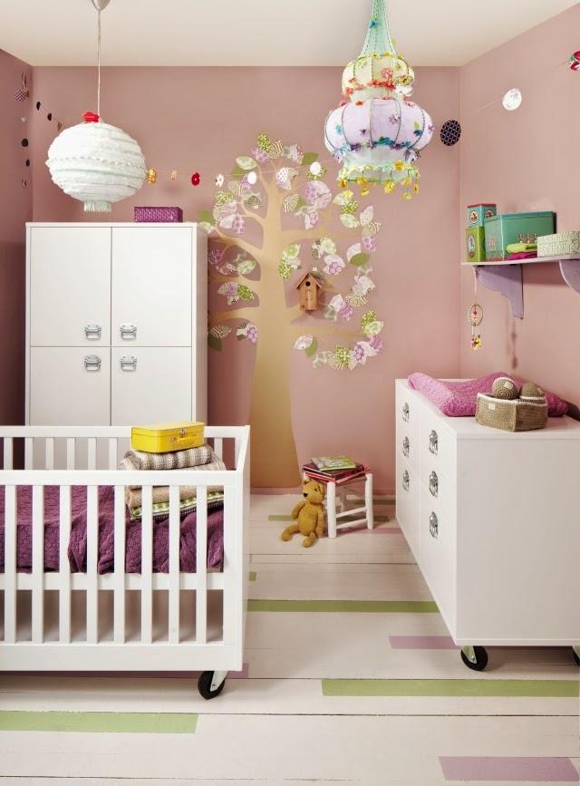 Lindos dormitorios para beb s dormitorios colores y estilos for Cuartos para ninas lindos