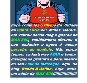 LINK DE INDICAÇÃO DO DIVINO MOREIRA