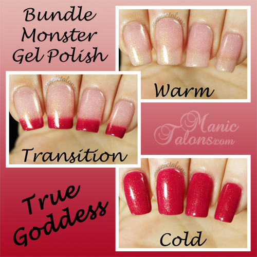 Bundle Monster Gel Polish True Goddess Swatch - BMC Awakening Collection