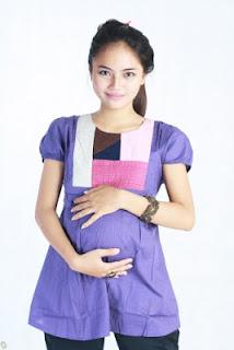 hamil,ibu,ternd,gaya,model,baju,gaun,