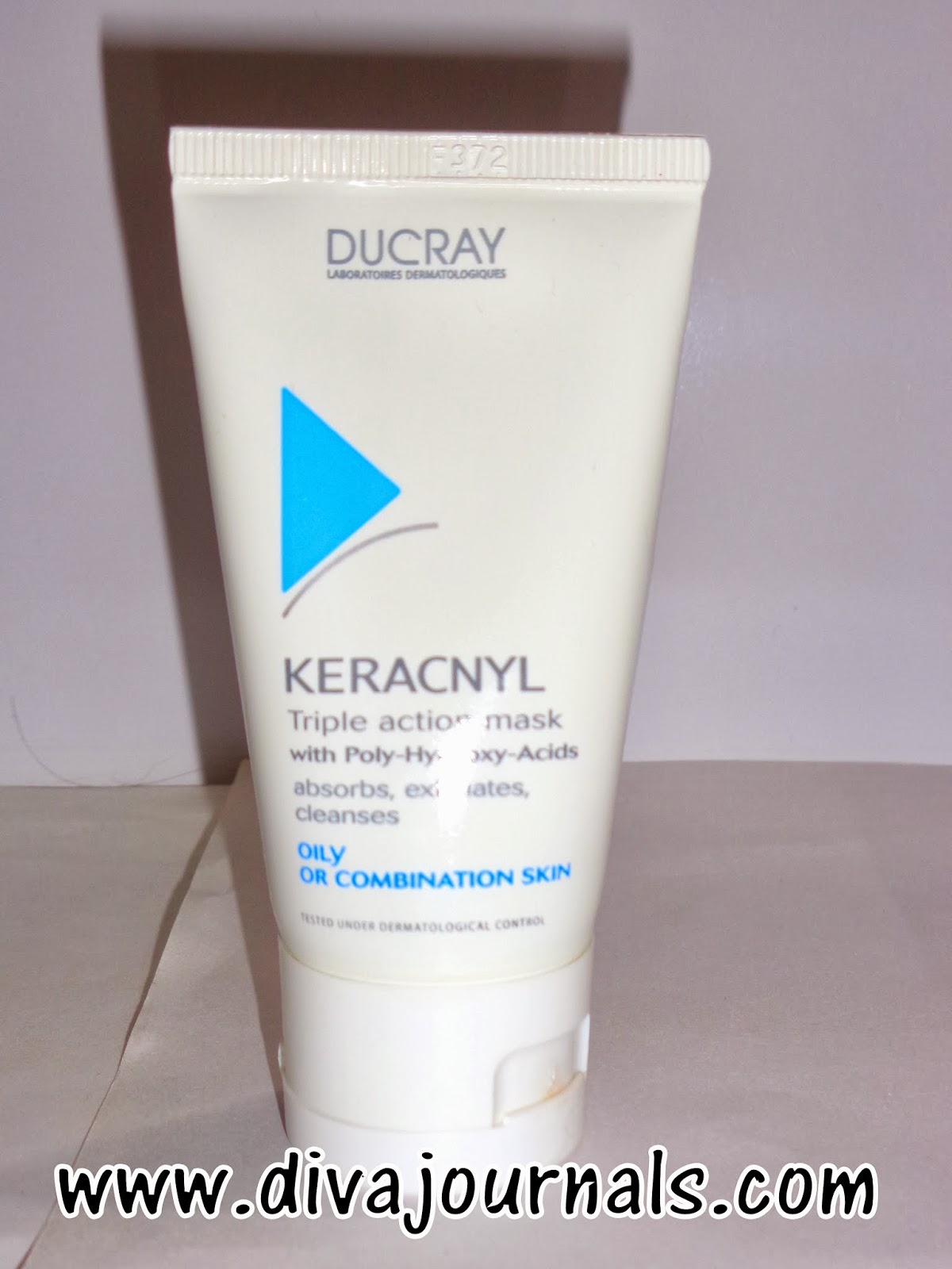3)Ducray Keracnyl Triple Action Mask