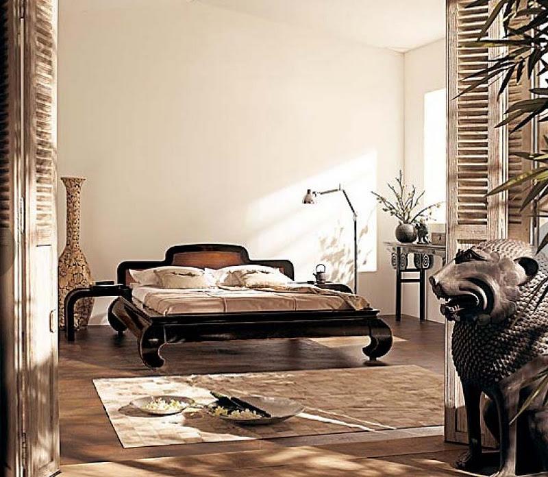 El blog de issa un aire colonial - Dormitorio estilo colonial ...