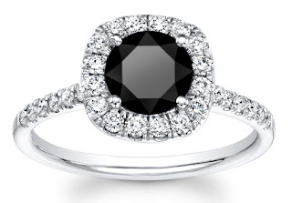 The organic black diamonds engagement rings is extremely rare