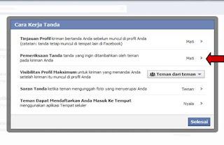 Cara Mencegah Tag Foto Di Facebook