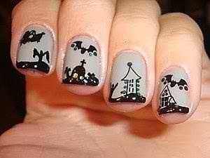 nail art nail Halloween Nail Art