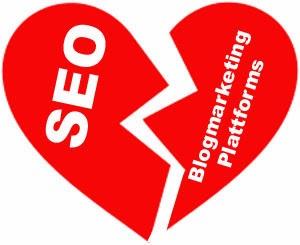 Blogmarketing Plattformen SEO Ende