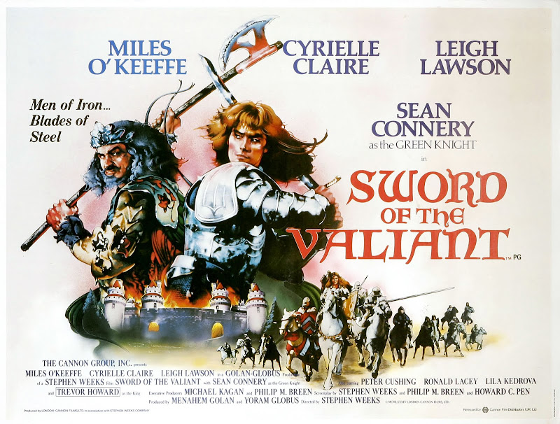 Sword of the Valiant movie poster