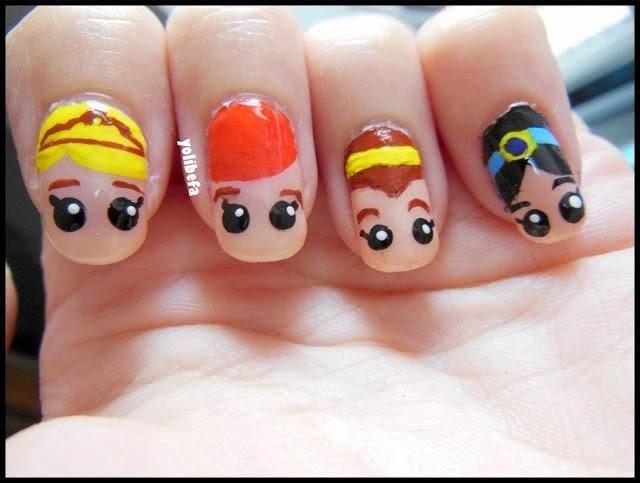 Manicura Princesas Disney