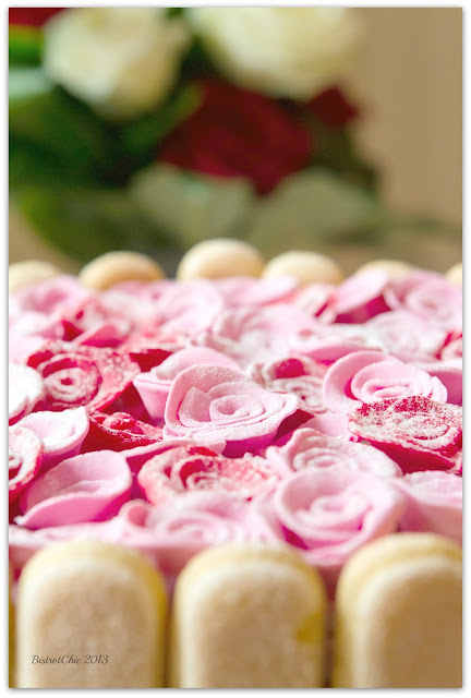 Love is in the Air Party cake featured in Pizzazzerie from BistrotChic