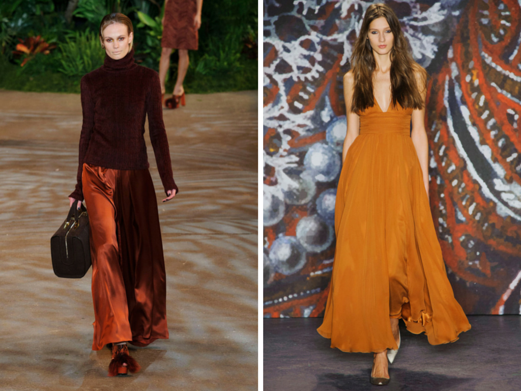 NYFW Top Trends, Marsala, Fashion, Style