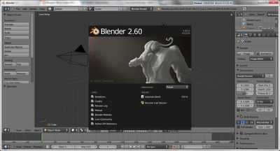 [Download] Blender 2.60 Software 3D Gratis