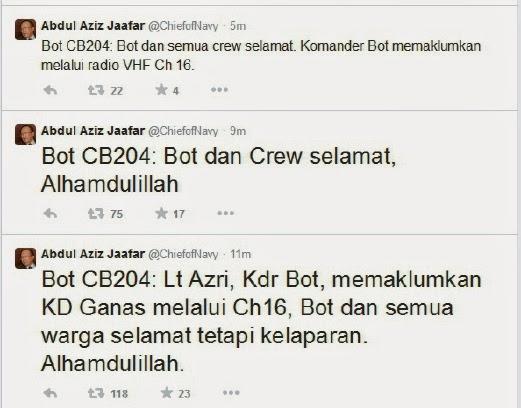 Twitter Panglima Tentera Laut Malaysia