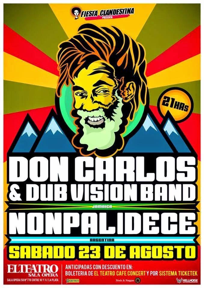 reggae, don carlos, nonpalidece, la plata