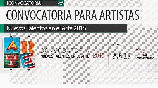 Convocatoria para Artistas. Nuevos Talentos en el Arte.